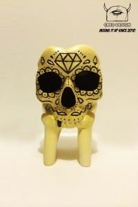 GID Sugar Skull by Creo Designs