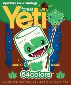 Mini Marshall - Forest Yeti