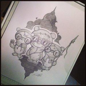 GeekWok drawing