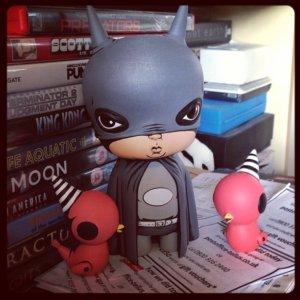 Bat Boy with his sidekicks by JPK