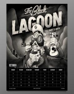 October - McBess 2014 Calendar