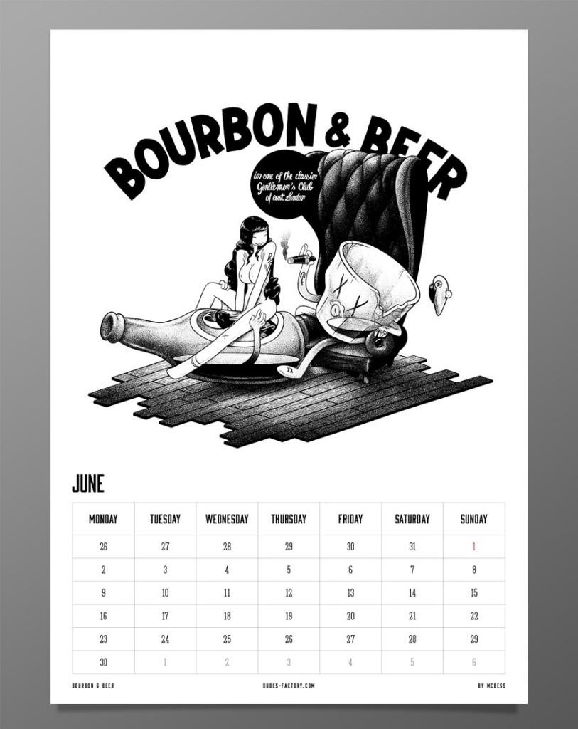 June - McBess 2014 Calendar