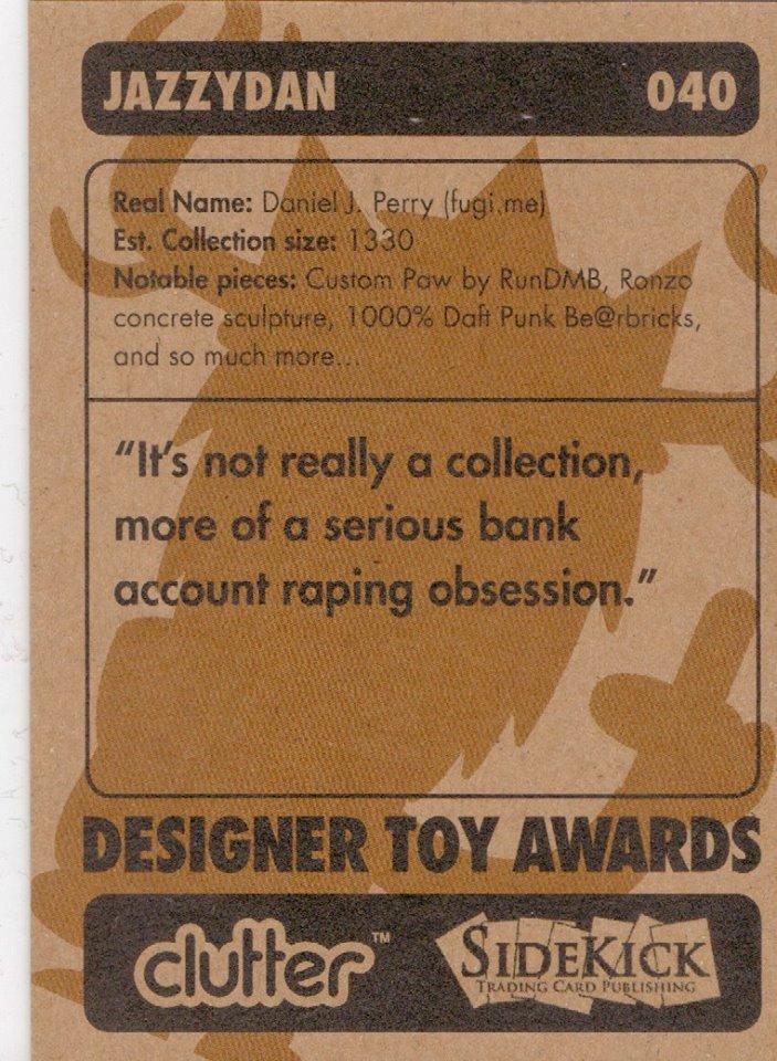 JazzyDan DTA Collector Card