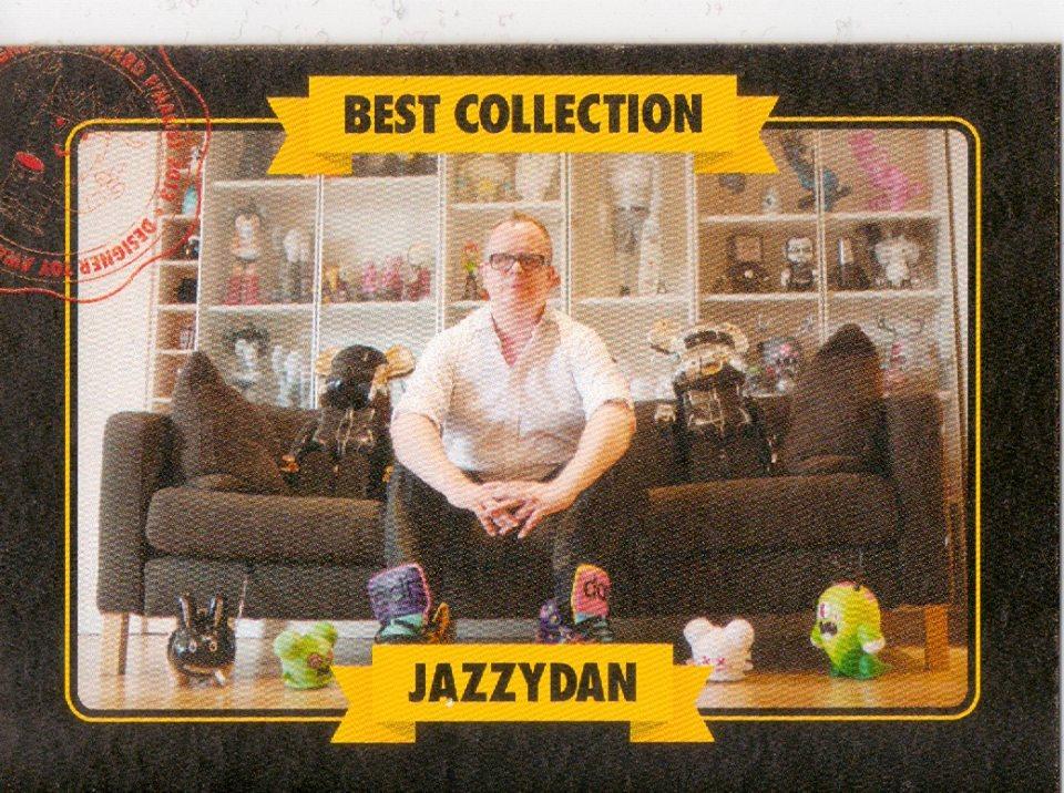 Jazzy Dan DTA Collector Card