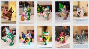 toyconosaurus-Tcon-show-customs-2