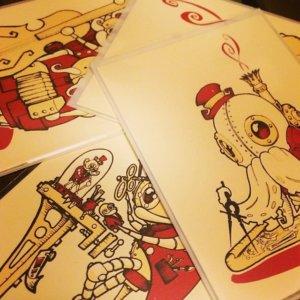 Pobber x Doktor A cards.