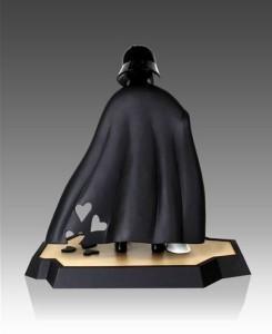 Star Wars Darth Vaders Little Princess Maquette back