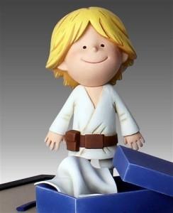 Star Wars Darth Vaders son Maquette