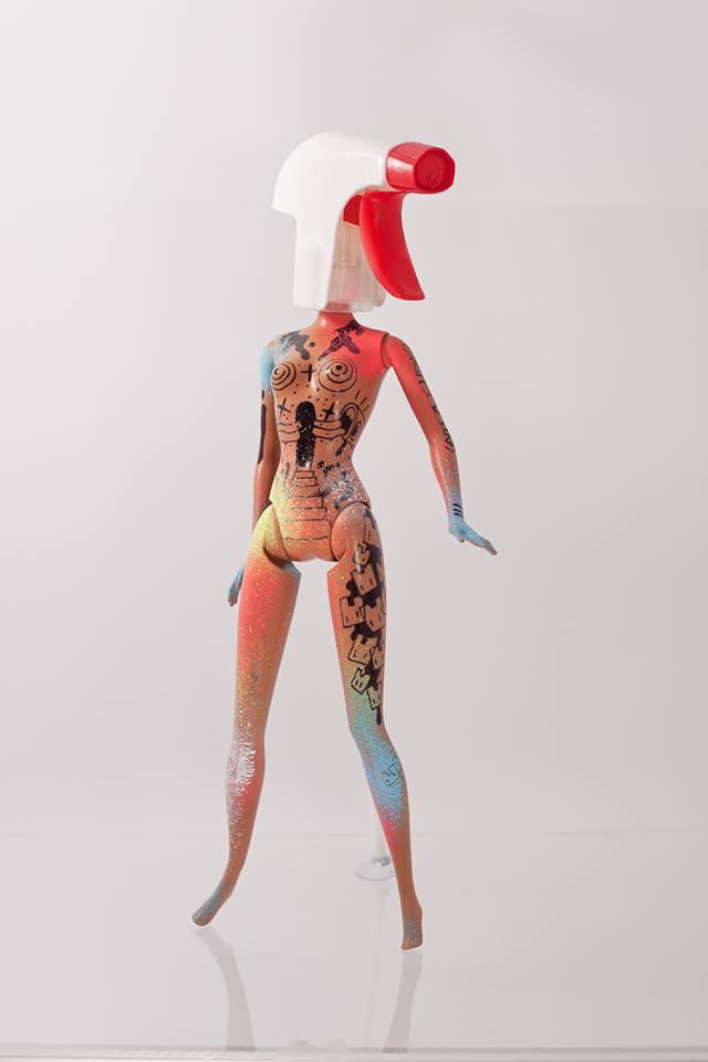 Lunartik Spectrum Sketched Doll
