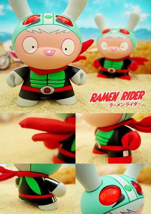 dolly oblong Ramen Rider