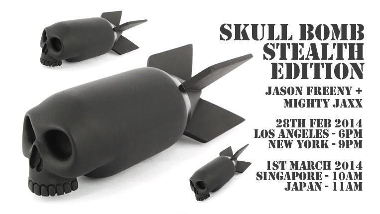 freeny mighty jaxx skull bomb