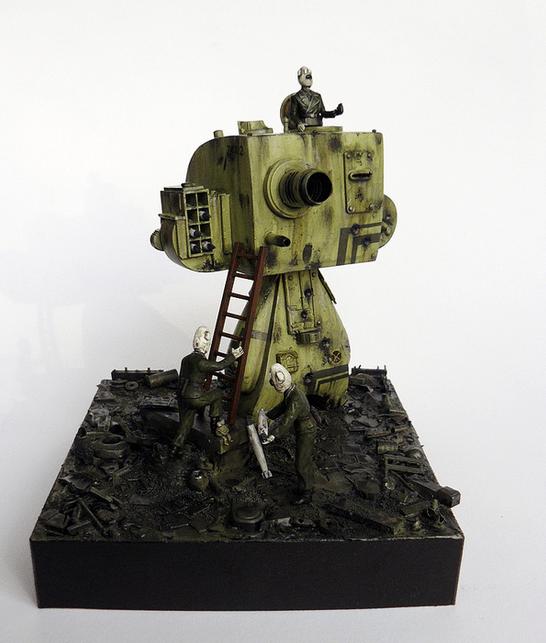 Teddy tank IV