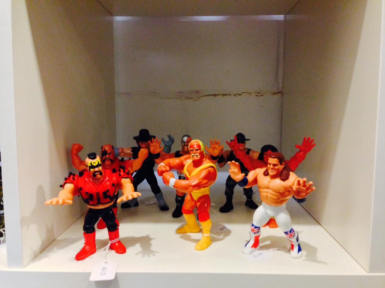 Toy Shack WWF Wrestling