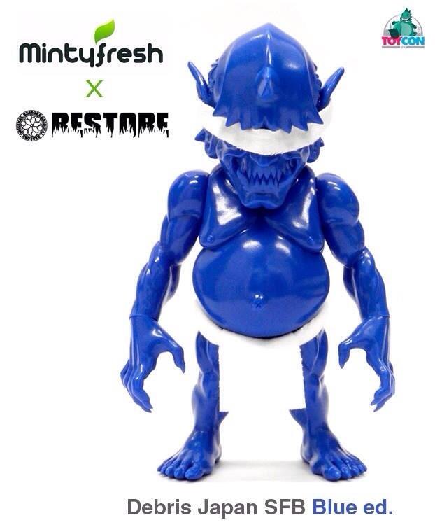 mintyFresh Debris Japan SFB Blue Edition