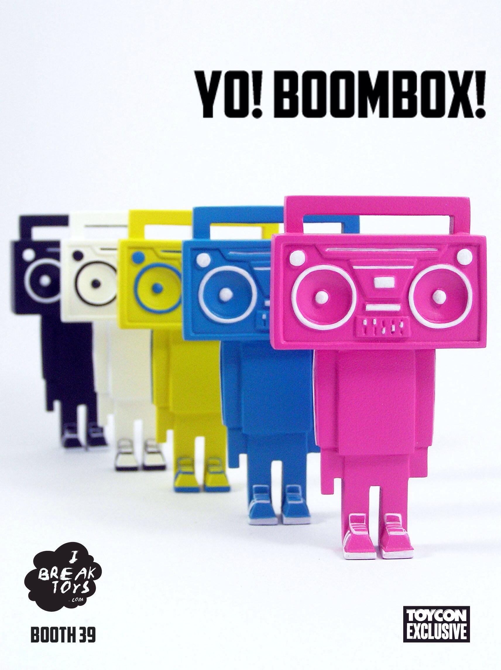 I Break Toys Yo! boombox!