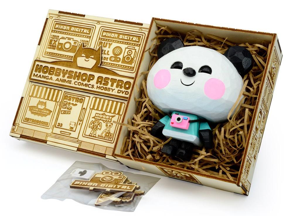 Panda Otaku Jerry Toycon UK Painted box insert