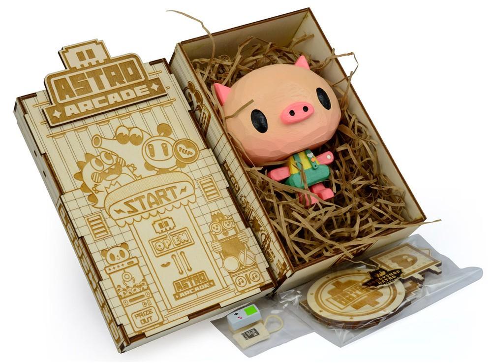Panda Otaku Piggle Painted Edition box