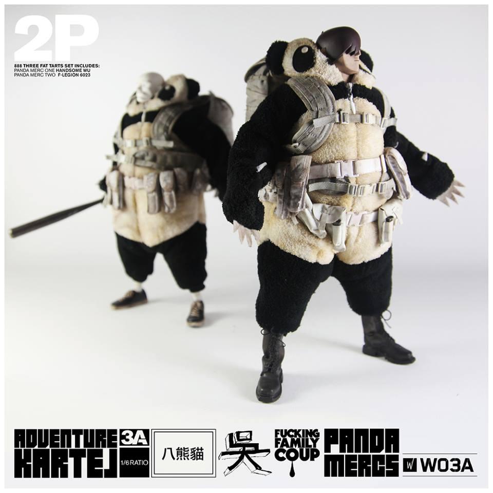 Adventure Kartel Panda Mercs 1&2 Handsome Wu and F-Legion 6023 2
