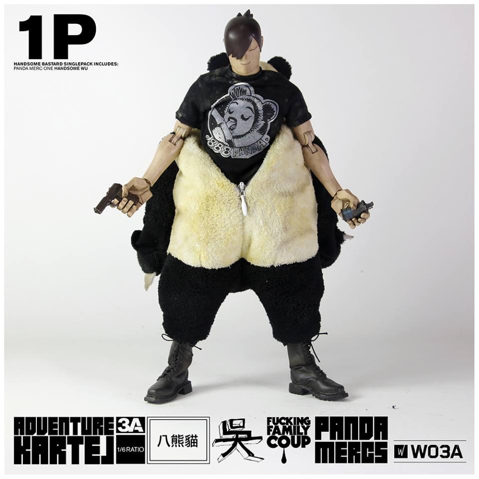 Adventure Kartel Panda Mercs 1&2 Handsome Wu and F-Legion 6023 9
