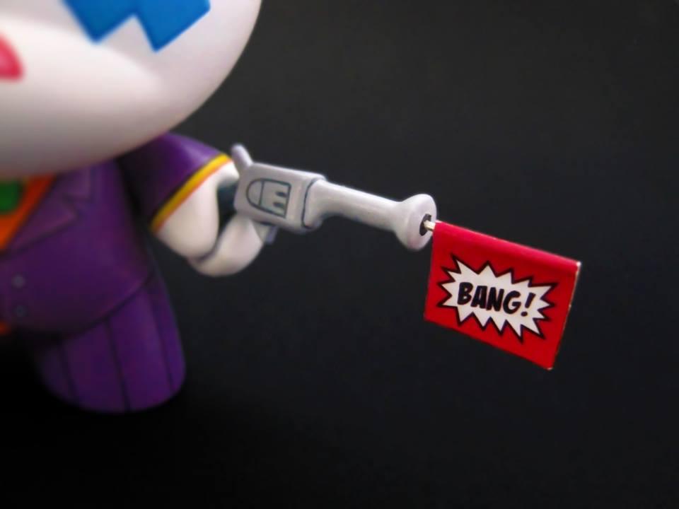The Joker Dolly Oblong Gun