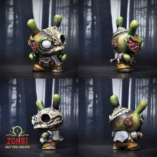 Zonbi half soul walker