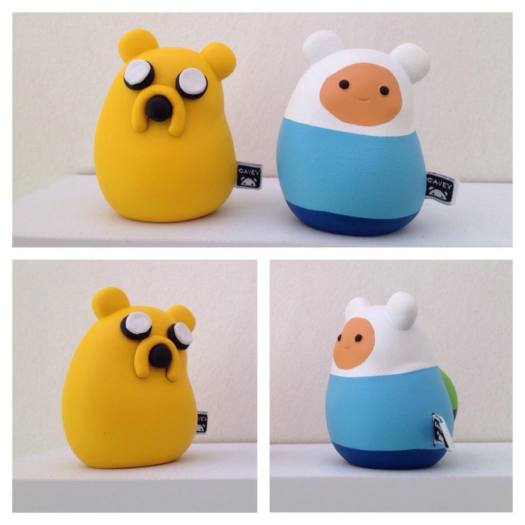 Blue Frog Adventure Time Caveys