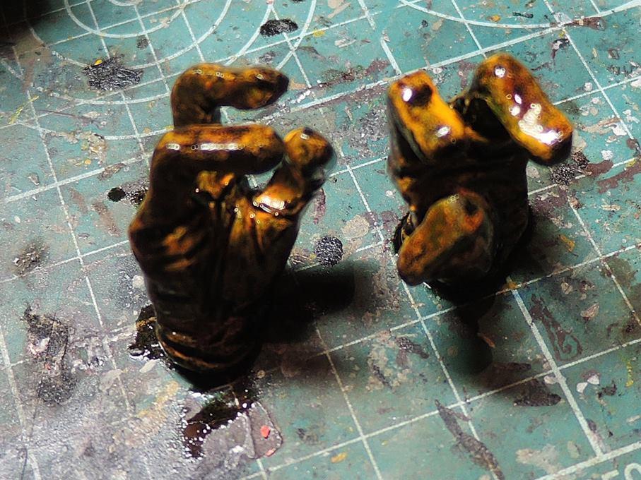 Pocho CHIKAToys paint WIP 15