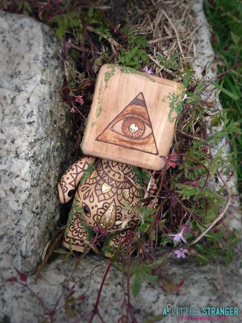 a little stranger Talisman of Divination sight