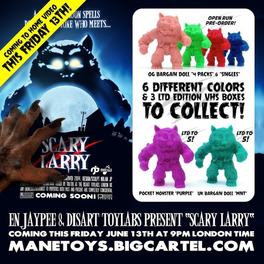 scary larry blog promo