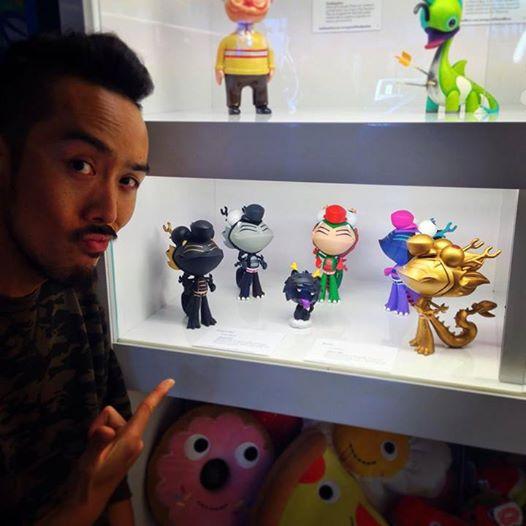 Martin Hsu blacky with dragon boy