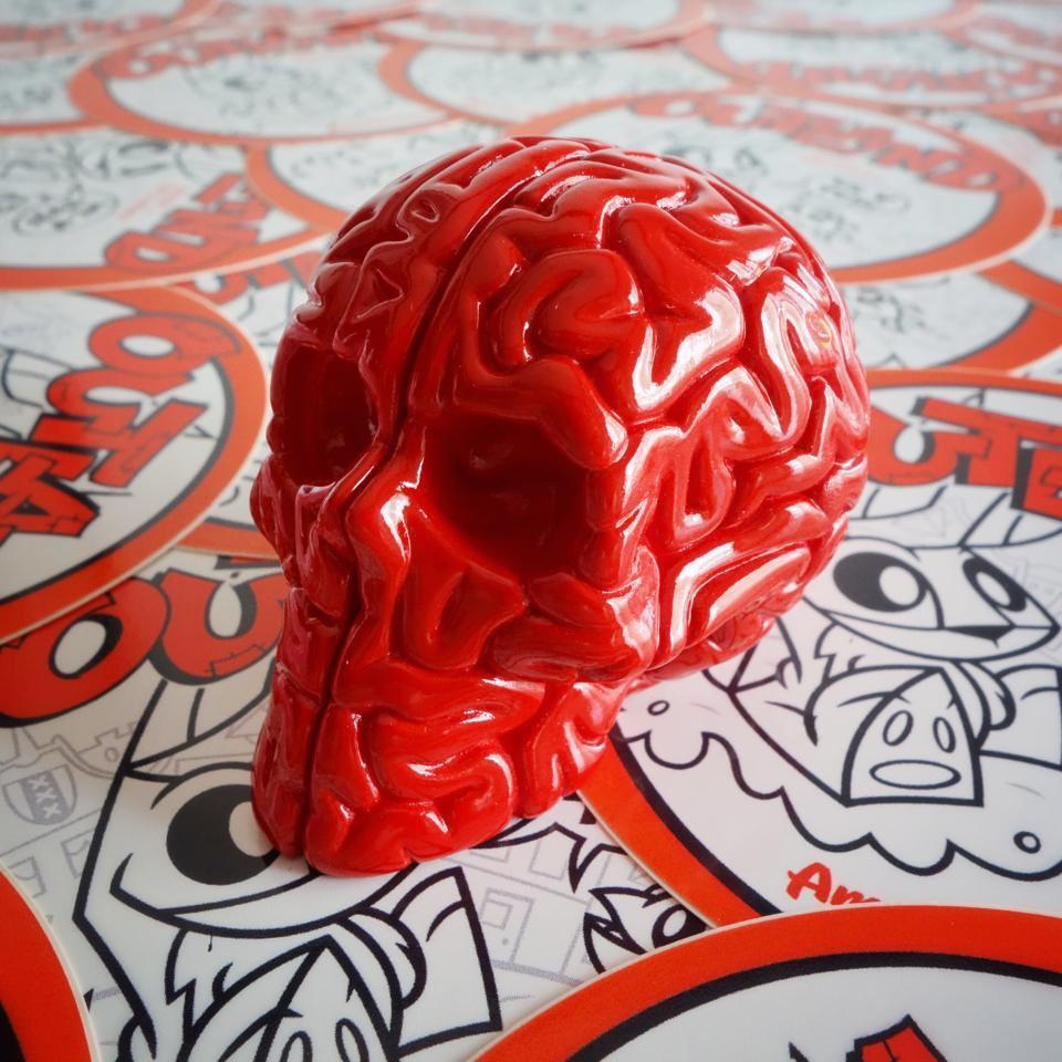 Mini Skull Brain -  Emilio Garcia