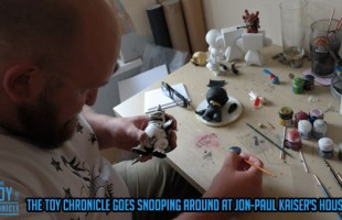 The Toy Chronicle goes snooping around at Jon-Paul Kaiser's house