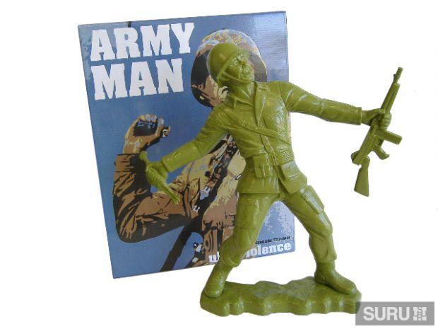 Big Army Man by Frank Kozik