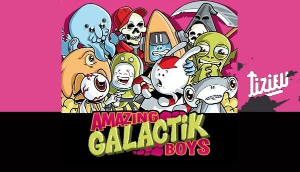 Amazing Galactik Boys - Tizieu