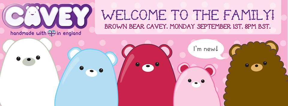 Brown bear Cavey banner