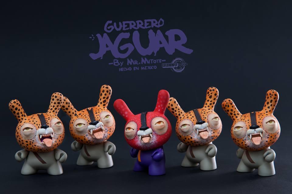 Mr Mitote Guerrero Jaguar  hecho en mexico