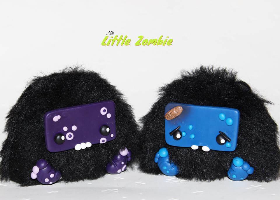 The Little Furry Monsters - Miss Little Zombie kurb blur