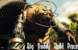 BIOSHOCK BIG DADDY CUSTOM 7″ MUNNY: BUILD PROCESS