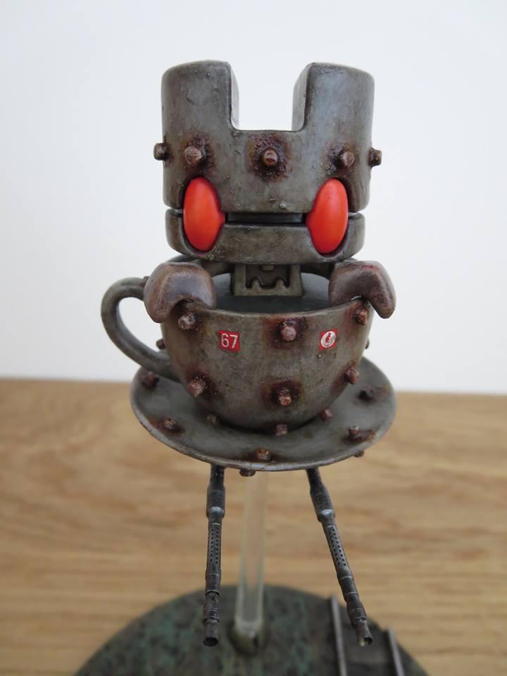 War of Tea Worlds - Jim Magee close up