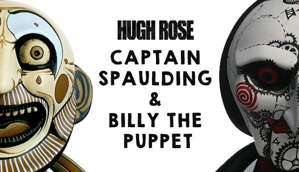 Captain Spaulding & Billy the Puppet by Hugh Rose