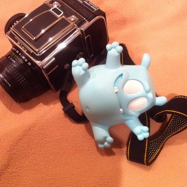 muffin man sculpts malte fulda prototype toycon blue