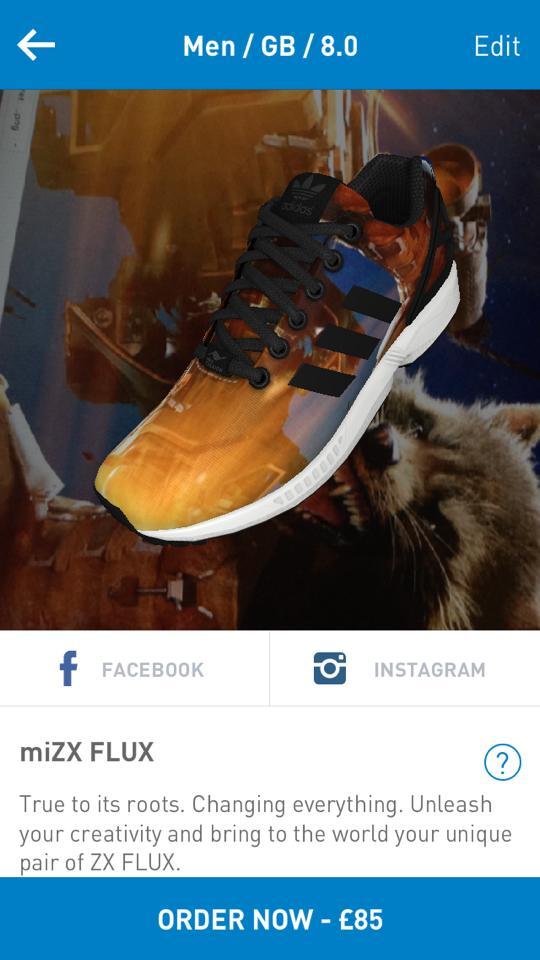rocket raccoon TheToyChronicle adidas mizxflux