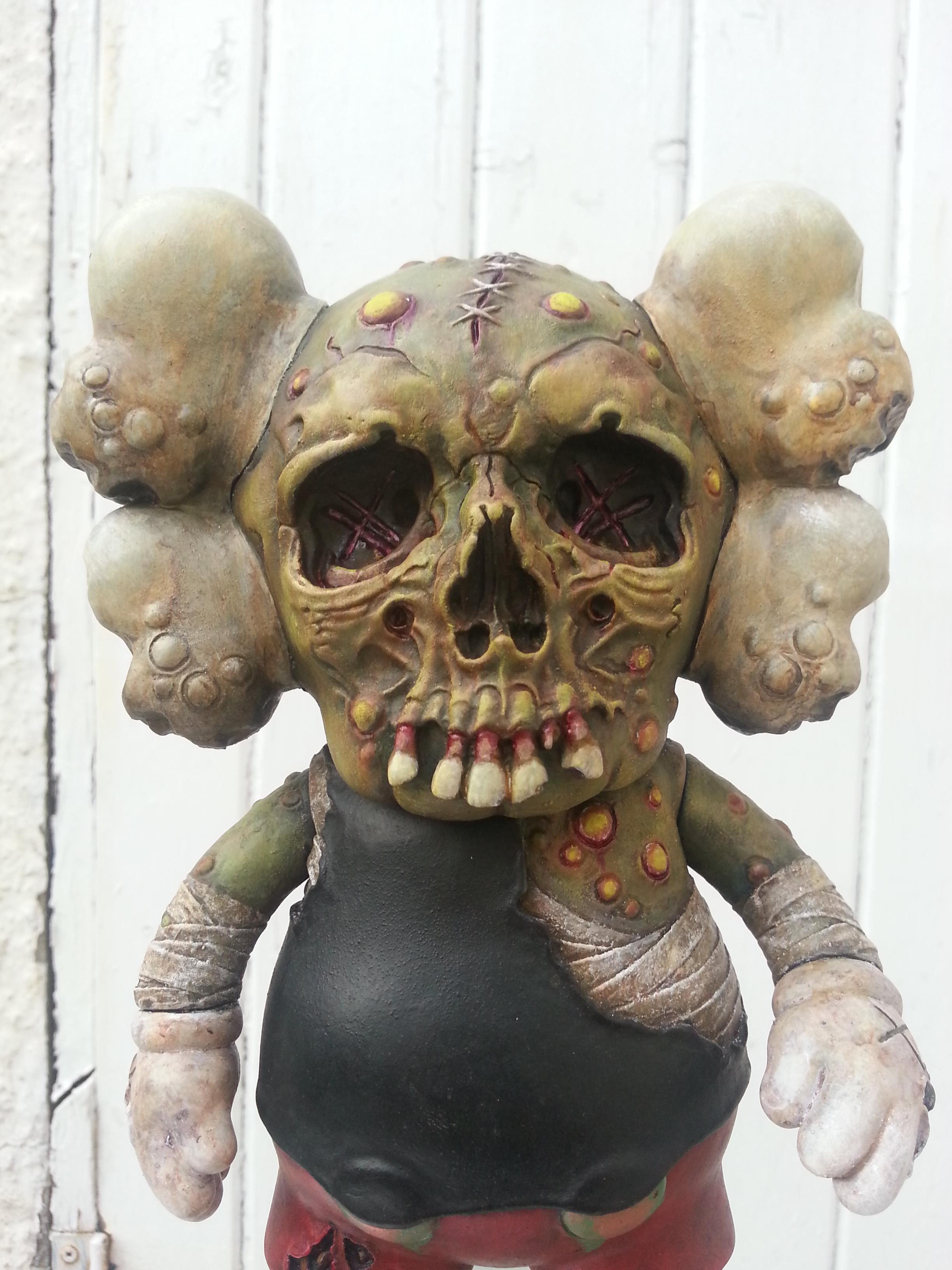 Kaws x Pushead Companion Bootleg by Chaingun! | The Toy ...