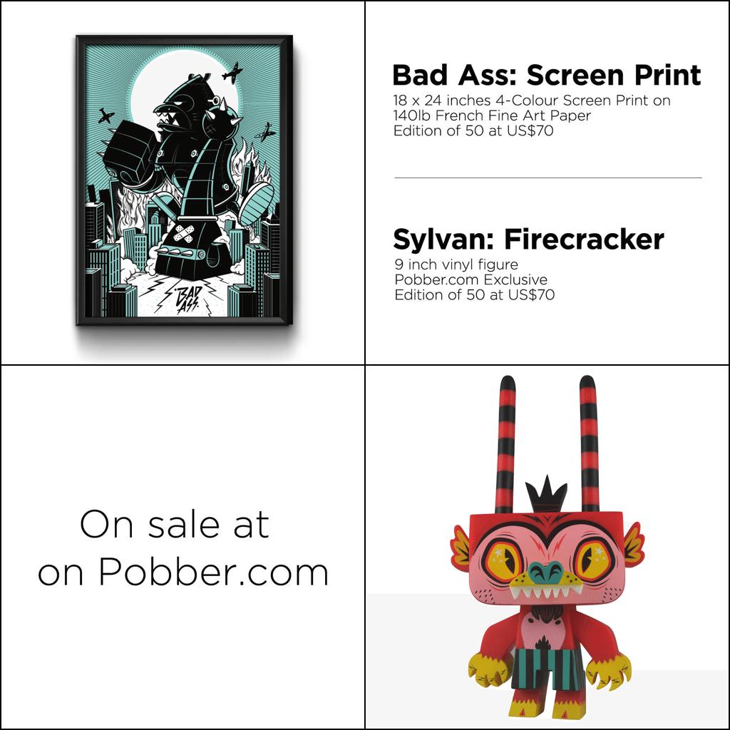 Bad Ass Print and Firecracker