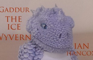 Gaddur - The Ice Wyvern by Ian Hancox