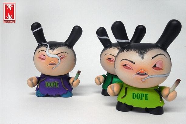 nugglife dopevinyl custom dunny