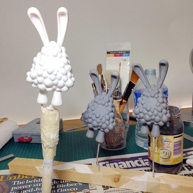 Usagi Space Bunny WIP 2