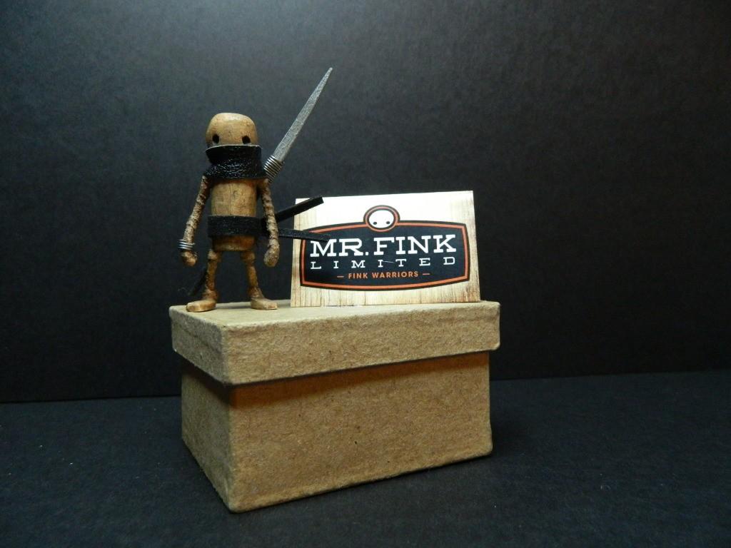 mr fink limited - fink warriors boxed 2