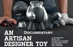 An Artisan Designer Toy Documentary By Syntetyk