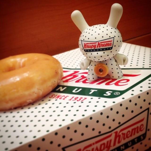 Erik Boyaxhiu Krispy Kreme Dunny